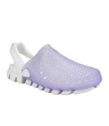 Vostro White L. Purple Feather Light Marie for Women - VES0012