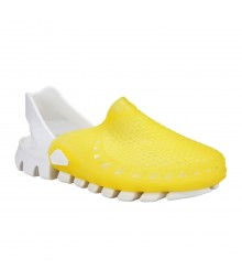 Vostro Yellow White Feather Light Marie for Women - VES0014