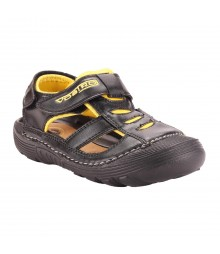 Vostro Men Sandal RiderB610 Black Yellow VSD0004