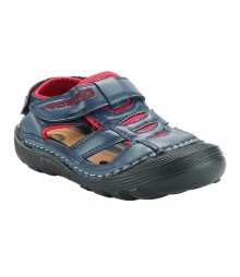 Vostro Men Sandal RiderB610 Navy Red VSD0005