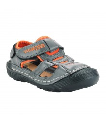 Vostro Men Sandal RiderB610 Grey Orange VSD0006
