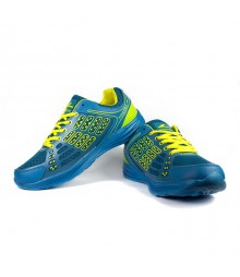 Vostro Men Sports Shoes Boozhim Blue Yellow VSS0003