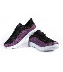 Vostro Sports Shoes Flyknit Girl Purple VSS0016