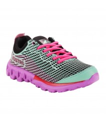 Vostro Sports Shoes Jetfuse Girl Green Purple VSS0018