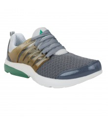 Cefiro O421 Grey Green Men Sports Shoes VSS0030