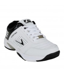 Vostro White Black Sports Shoes for Women - VSS0034