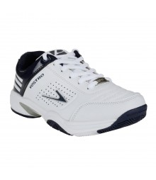 Vostro White Blue Sports Shoes for Women - VSS0035