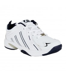 Vostro White Blue Sports Shoes for Women - VSS0036