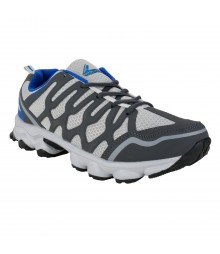 Vostro Grey Blue Sports Shoes for Men - VSS0041