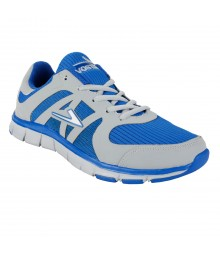 Vostro Grey Blue Sports Shoes for Men - VSS0045