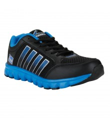 Vostro Black Sports Shoes for Men - VSS0046