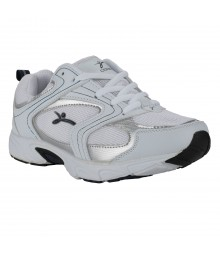 Vostro White Blue Sports Shoes for Men - VSS0059