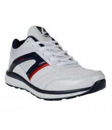 Vostro White Blue Sports Shoes Speed for Men - VSS0073