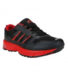 Vostro SinghamR005 Black Red Men Sports Shoes VSS0078