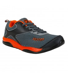 Vostro A035 Black Orange Men Sports Shoes VSS0090