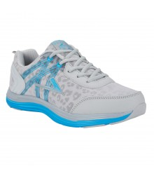 Vostro Audi03 Light Grey Blue Men Sports Shoes VSS0108