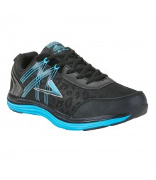 Vostro Black Blue Sports Shoes Audi for Men - VSS0110