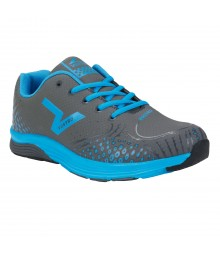 Vostro Audi05 Dark Grey Lake Blue Men Sports Shoes VSS0116
