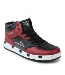 Vostro Red Casual Shoes for Men - VSS0120