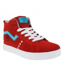 Vostro HN04 Red Men Sports Shoes - VSS0128-40