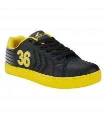 Vostro B166 Black Yellow Men Casual Shoes VSS0144
