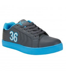 Vostro B166 Dark Grey Lake Blue Men Casual Shoes VSS0145