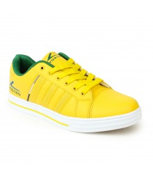 Vostro Yellow Casual Shoes for Men - VSS0150