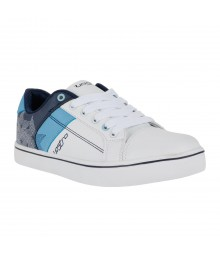 Vostro White Navy Moon Casual Shoes for Men - VSS0155