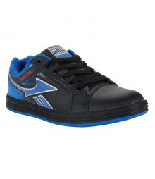 Vostro Black Royal Blue Casual Shoes for Men - VSS0160