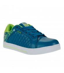 Vostro Peacock Green Casual Shoes for Men - VSS0166