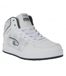 Vostro White Sports Shoes for Men - VSS0172