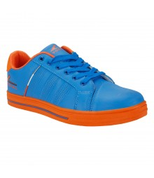Vostro B169 Royal Blue Orange Men Casual Shoes VSS0179