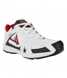 Vostro White Black Red Sports Shoes Speed for Men - VSS0196