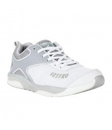 Vostro White Grey Sports Shoes for Men - VSS0205