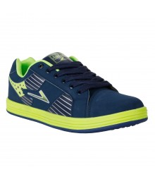 Vostro Black Green Sports Shoes for Men - VSS0213