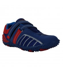 Vostro Red Blue Sports Shoes for Men - VSS0232