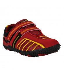 Vostro Red Black Sports Shoes for Men - VSS0233