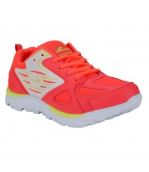 Vostro Red Sports Shoes Toner for Women - VSS0280