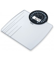 Beurer Analogue & Digital Dual Display Weighing Scale - GS58