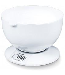 Beurer Simple White Weighing Scale - KS32