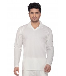 Wolf Cricket Whites T-Shirt (Full Sleeves) OMTshirts-005