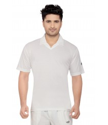 Wolf Cricket Whites T-Shirt (Half Sleeves) OMTshirts-006