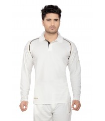 JW Cricket Whites T-Shirt (Full Sleeves) OMTshirts-012
