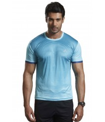 Active Wear T-shirts Blue TS1602 Blue