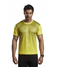 Active Wear T-shirts Yellow TS1602 Yellow