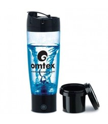 Protein Mixer & Gym Shaker with Sipper 600 ml Bottle in Black