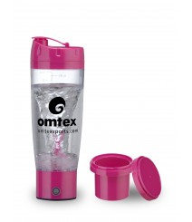 Protein Mixer & Gym Shaker with Sipper 600 ml Bottle in Pink