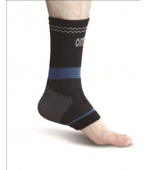 Superior Elastic Ankle Support Black