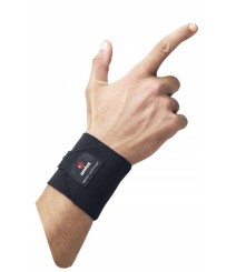 Wrist Supporter Firm Grip Free Size in Black Color
