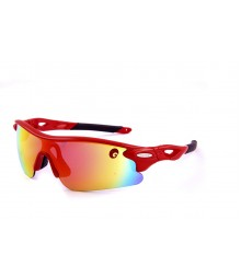 Omtex Flash Red Sports Sunglasses 04